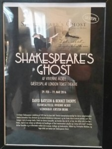 Plakat for Shakespeares Ghost