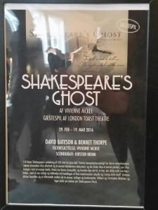 Plakat for Shakespeares Ghost